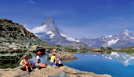 Swiss Alps Walking &amp; Hiking Tour